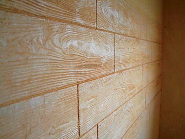 MURO STAMPATO Parete interna ad effetto legno