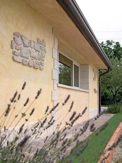 MURO STAMPATO Inserto in roccie stampate su parete esterna