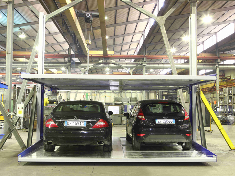 Automatic parking systems DOUBLE SPACER 25 by O.ME.R.