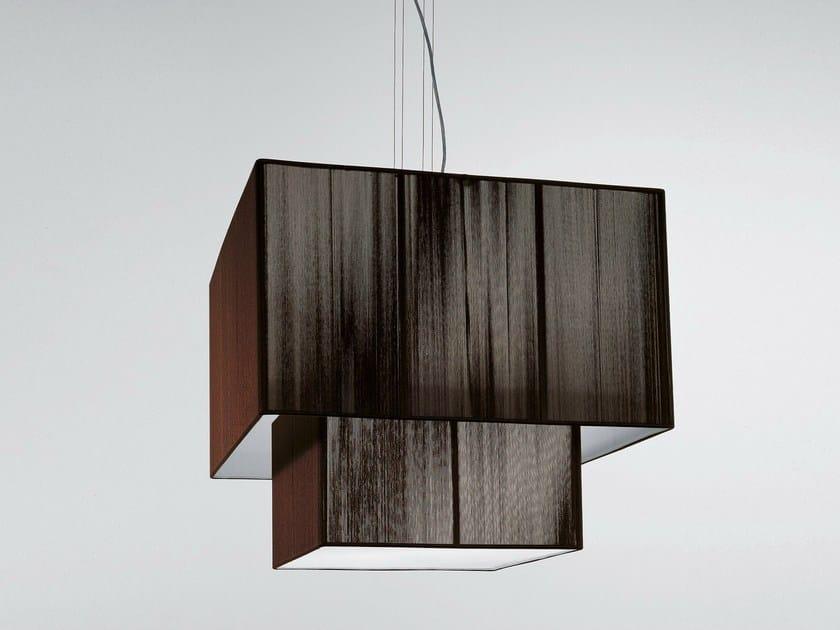 Handmade silk pendant lamp CLAVIUS | Pendant lamp by AXOLIGHT