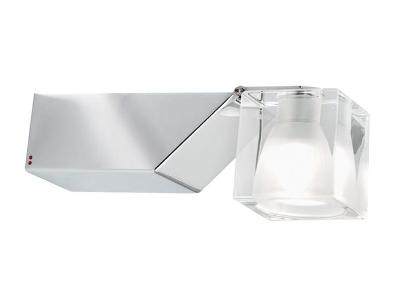 Wall-mounted adjustable spotlight CUBETTO   Adjustable spotlight by Fabbian