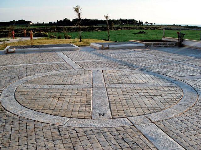 Pavimenti In Cemento Per Esterno : Pavimento per esterni in calcestruzzo pavimento stampato ideal work