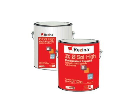 Thermo hardening resin ZN TRASPARENTE ALTISSIMO SPESSORE by Rezina