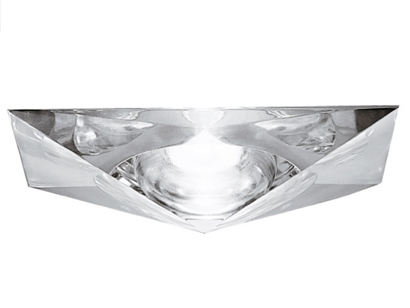 Recessed crystal spotlight for false ceiling CHEOPE by Fabbian