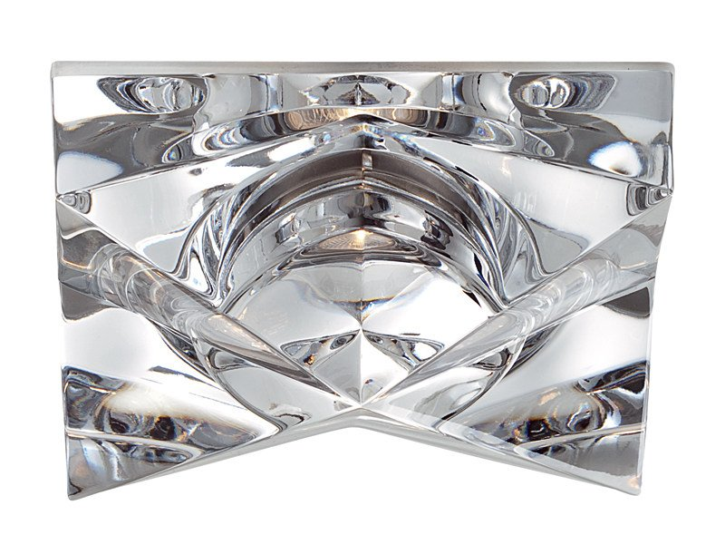 Recessed crystal spotlight for false ceiling CINDY by Fabbian