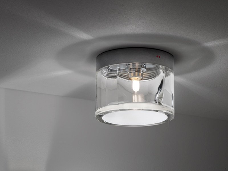 Glass ceiling lamp JAZZ   Ceiling lamp by Fabbian