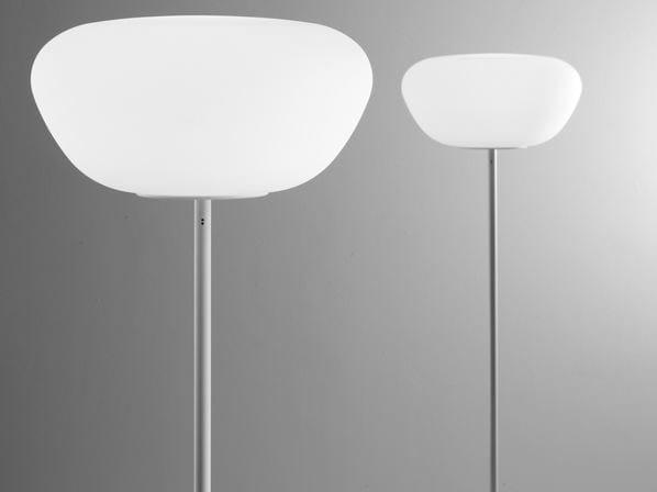 Glass floor lamp LUMI POGA   Floor lamp by Fabbian