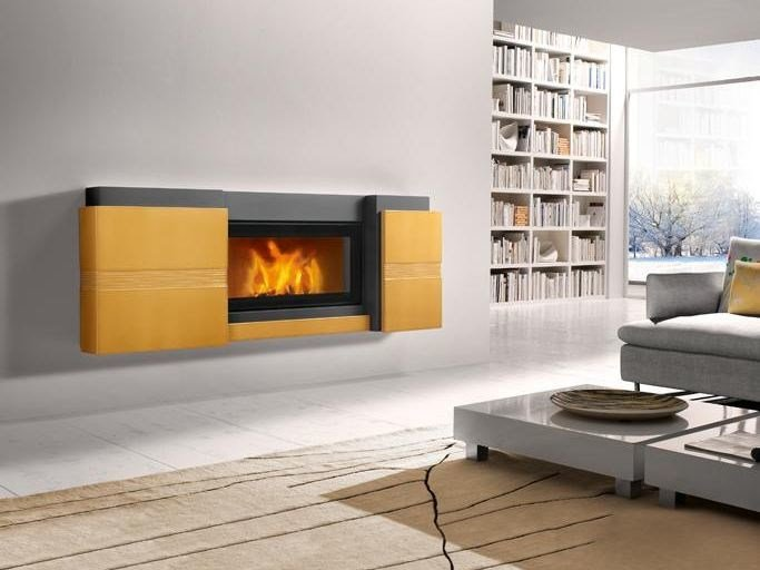 Faïence Fireplace Mantel GRAZ by Piazzetta