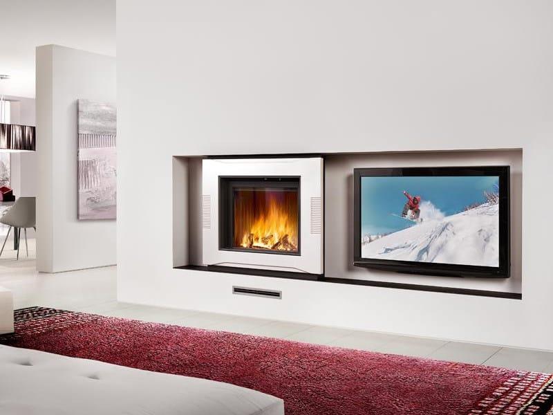 Faïence Fireplace Mantel BREMA by Piazzetta