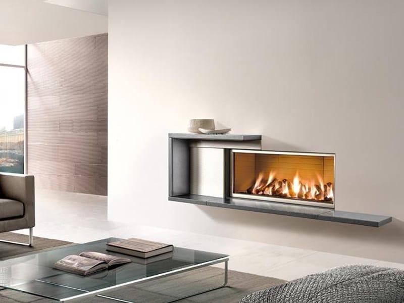 Faïence Fireplace Mantel LINZ by Piazzetta