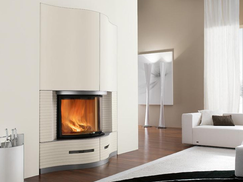 Faïence Fireplace Mantel FENICE by Piazzetta