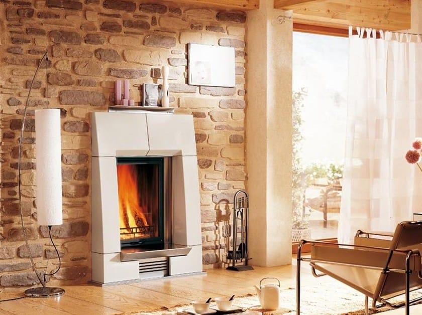 Faïence Fireplace Mantel PORTALE by Piazzetta