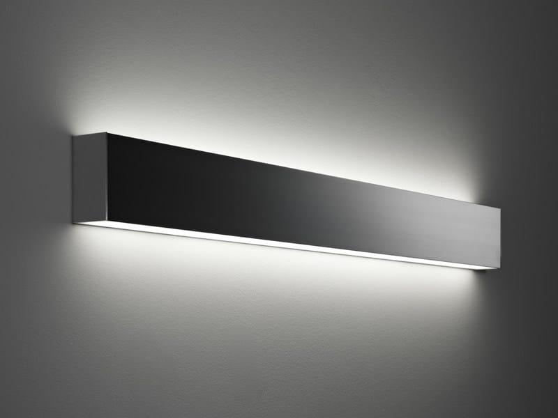 Aluminium wall light SLOT | Wall light by Fabbian