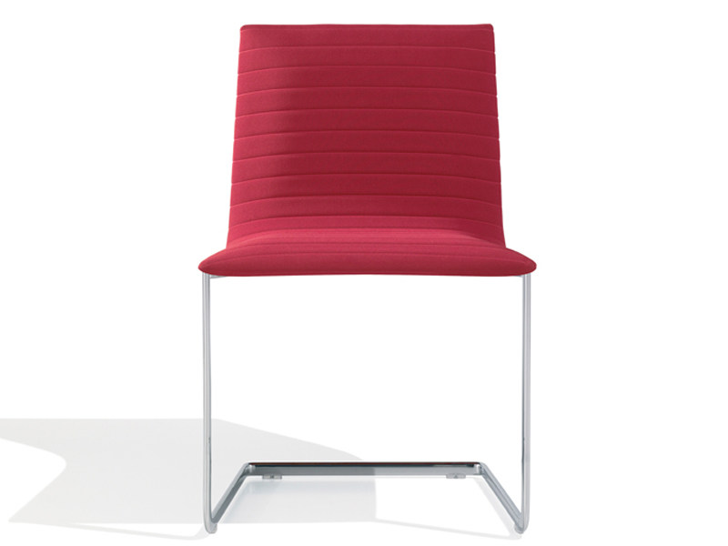 Cantilever upholstered chair LINEAL CORPORATE | Chair by Andreu World