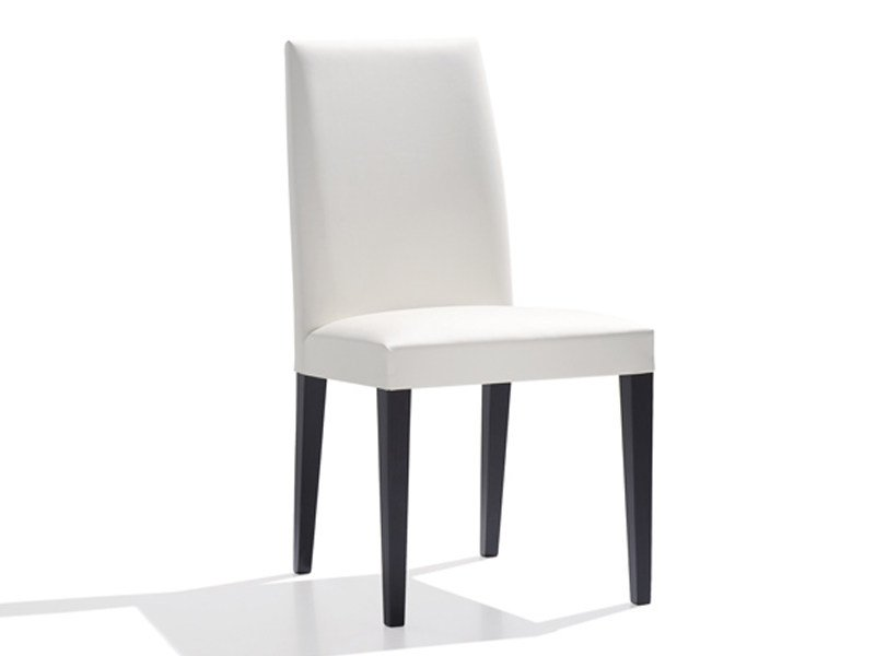 Upholstered restaurant chair ANNA | Chair by Andreu World