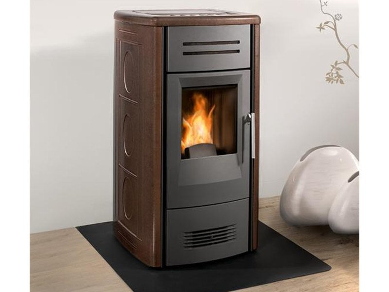 Pellet stove for air heating P958 | Pellet stove by Piazzetta