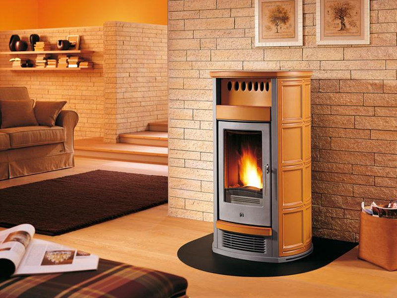 Pellet stove for air heating P961 | Stove for air heating by Piazzetta