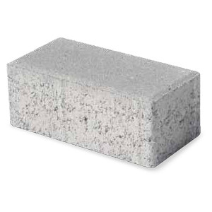 Photocatalytic lightweight concrete paving block MATTONCINO GREEN ACTIVE by M.v.b.
