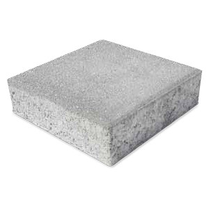 Photocatalytic lightweight concrete paving block QUADRO GREEN ACTIVE by M.v.b.