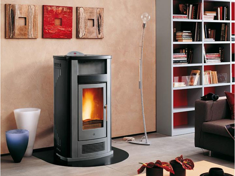 Pellet Heating stove P960 THERMO   Heating stove by Piazzetta