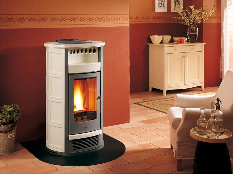 Pellet Heating stove P961 THERMO   Heating stove by Piazzetta