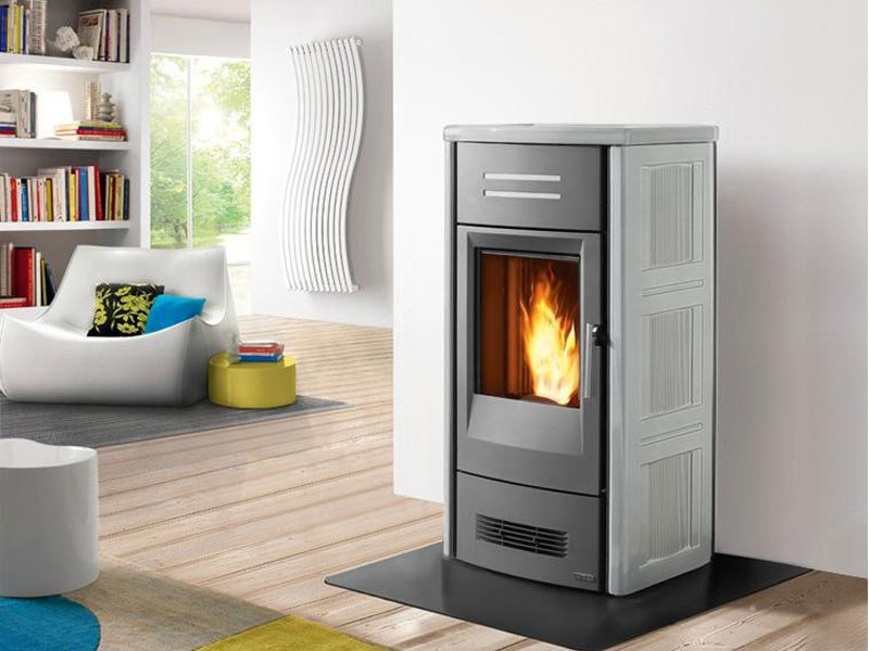 Pellet Heating stove P963 THERMO | Heating stove by Piazzetta