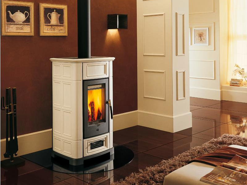 Stove for air heating E918 | Wood-burning stove by Piazzetta