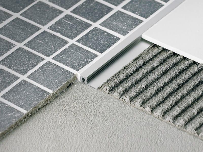 Profiles For Thin Tiles Floors Mosaictec Sjm By Profilitec