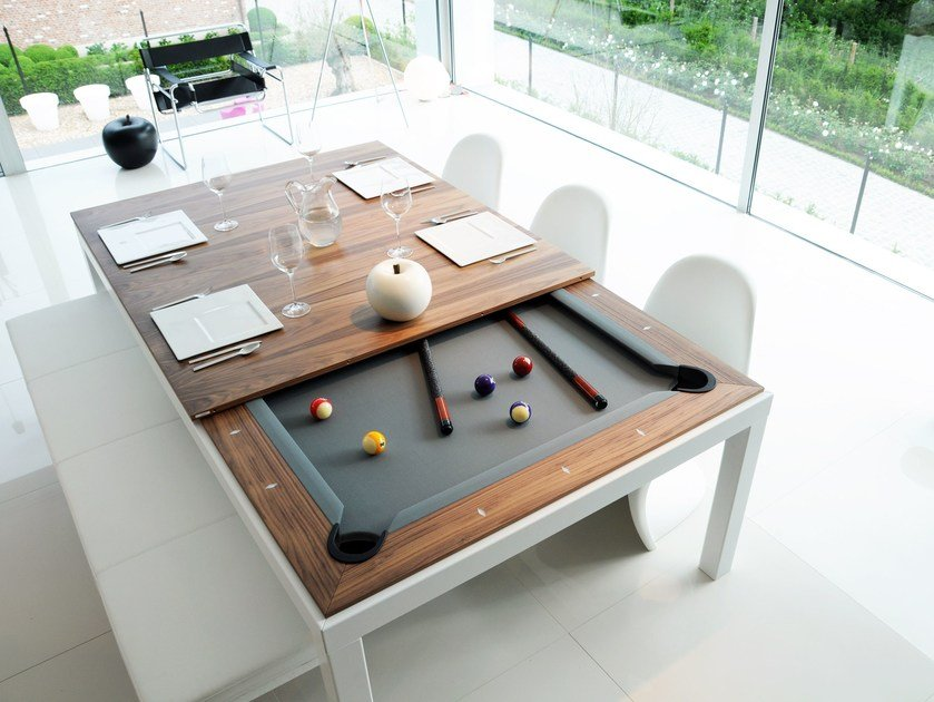 Metal line tavolo by fusiontables saluc - Misure tavolo da biliardo ...