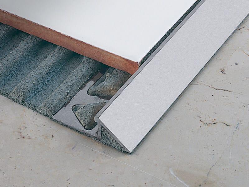 Floor edging and finishing profile ZEROTEC ZR by PROFILITEC