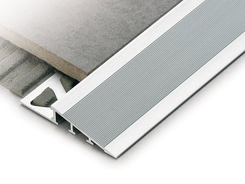 Ramp profile for floors at different heights RAMPTEC ZRR by PROFILITEC