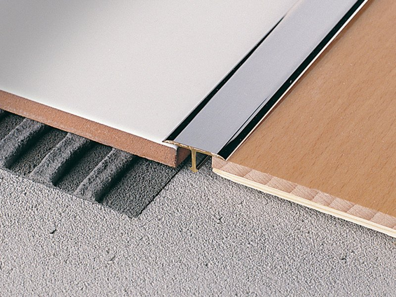 Technical junction for floors at same height COVERTEC SP by PROFILITEC