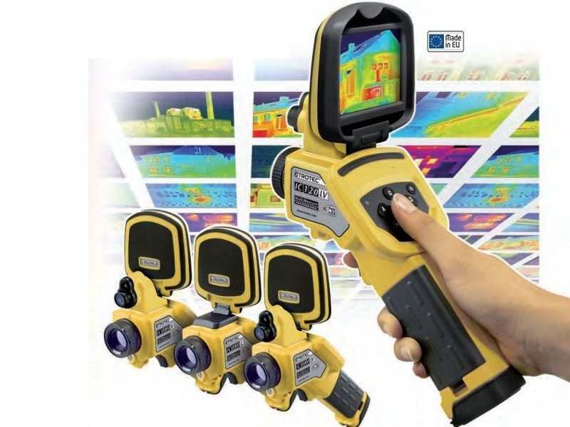Measurement, control, thermographic and infrared instruments Thermal camera by PASI