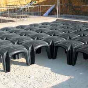 Formwork and dome for hollow core slab GUTTADRYTEK® by GUTTA ITALIA