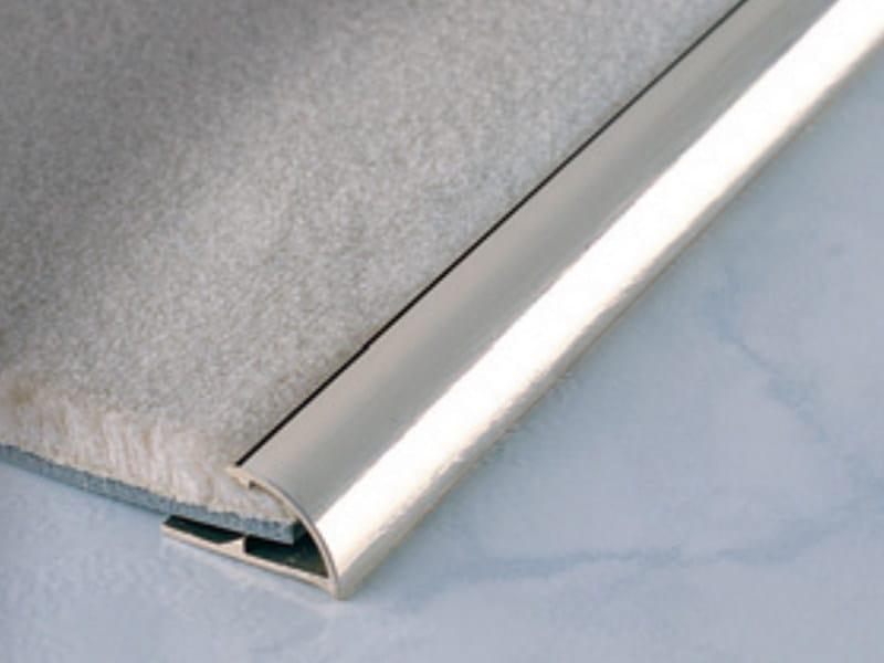 Terminal edge self adjusting carpet profiles CARPETEC MA-MS by PROFILITEC