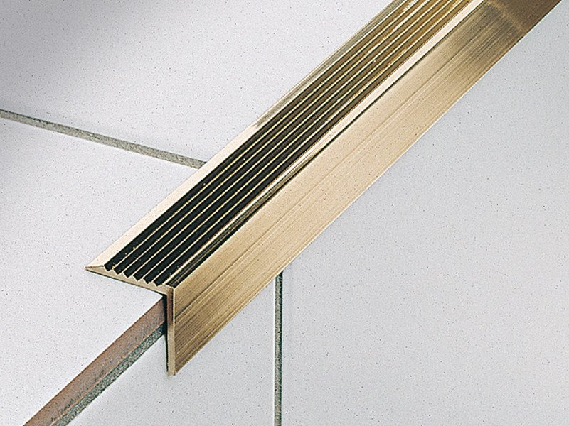 Edge finishing ribbed stair nosing STAIRTEC AE by PROFILITEC