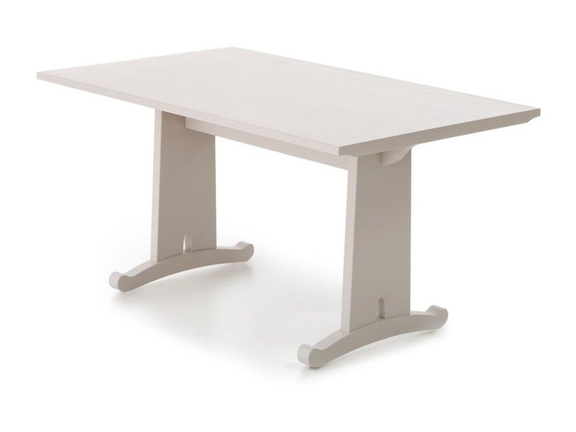Solid wood table FRATINO by Minacciolo