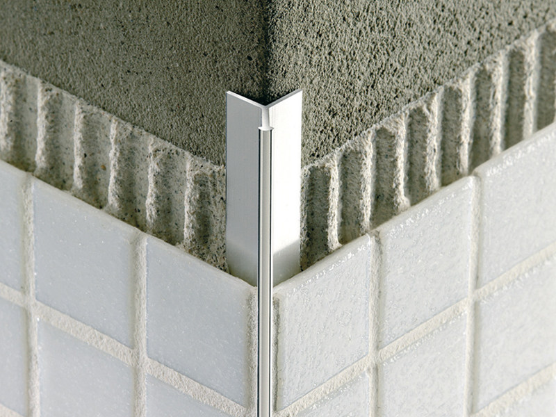 Invisible aluminium profile for mosaic MOSAICTEC RJF by PROFILITEC