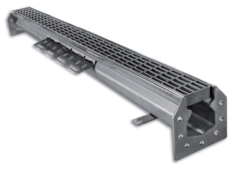 Walkable metal Grille M60 by F.lli MALIN