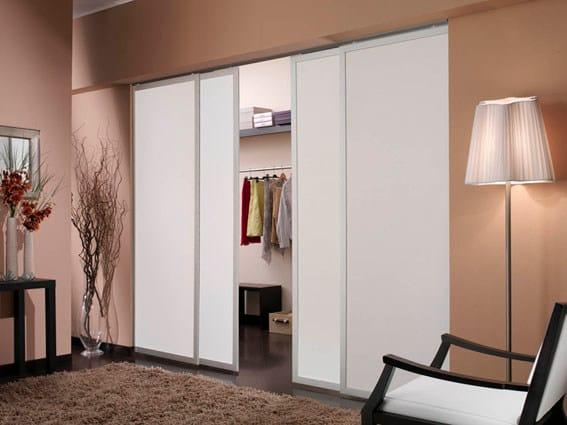 Panel curtain MAGRITTE FRAME SYSTEM® by Dekora