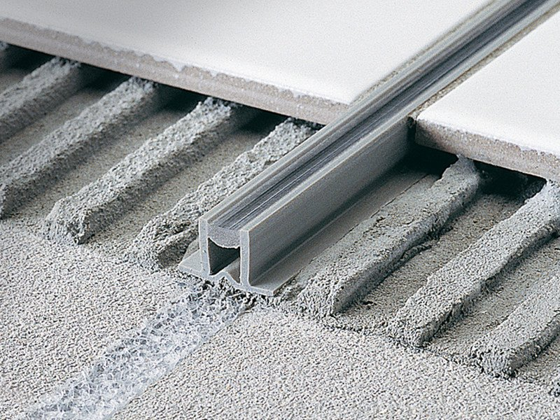 Movement joint for thin bed application COFLEX CE by PROFILITEC