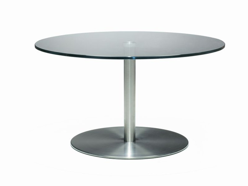 Low round coffee table L@P | Coffee table by ROSSIN