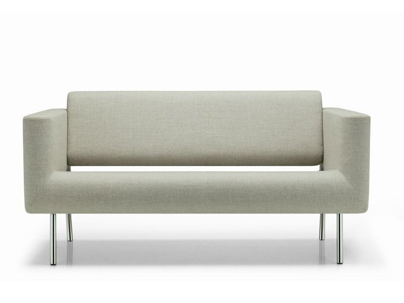 2 seater fabric sofa ORBIS | 2 seater sofa by ROSSIN