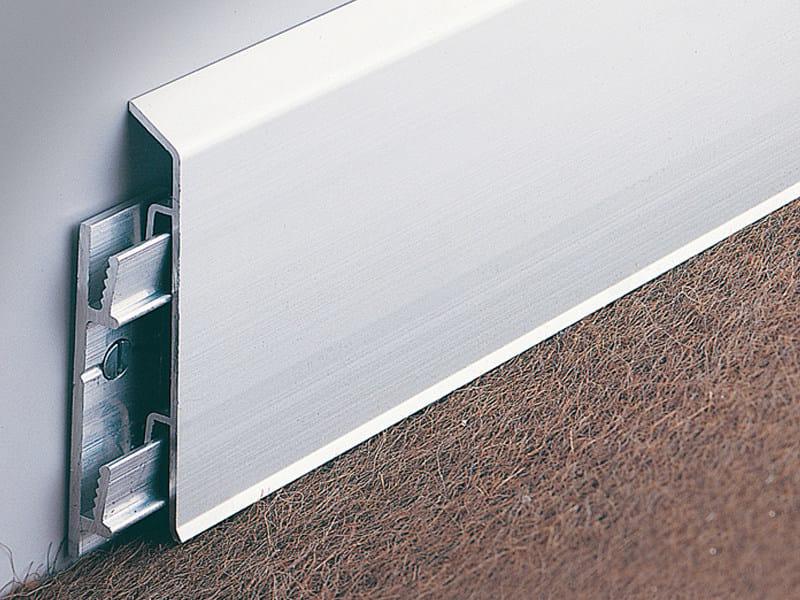 Interlocking aluminium skirting board BI | Skirting board by PROFILITEC