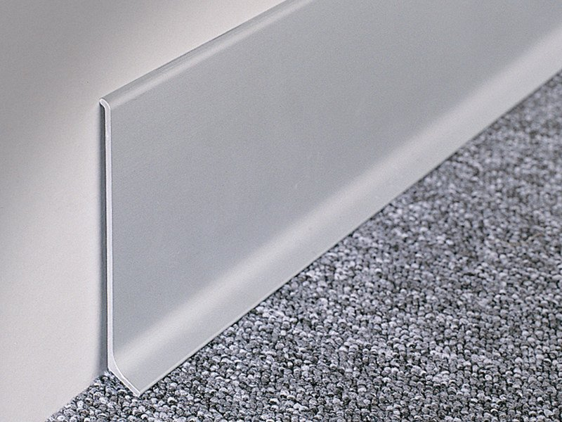 Skirting profiles BA 600 by PROFILITEC