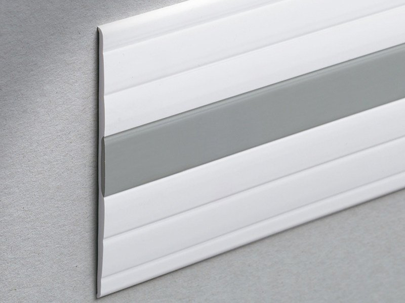 Co-ordinated wall protection strip Bicolor Design WALLPROTECTION WP by PROFILITEC
