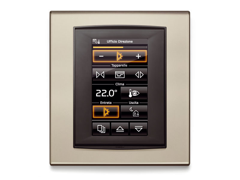 Building automation system for hotel WELL-CONTACT PLUS by VIMAR