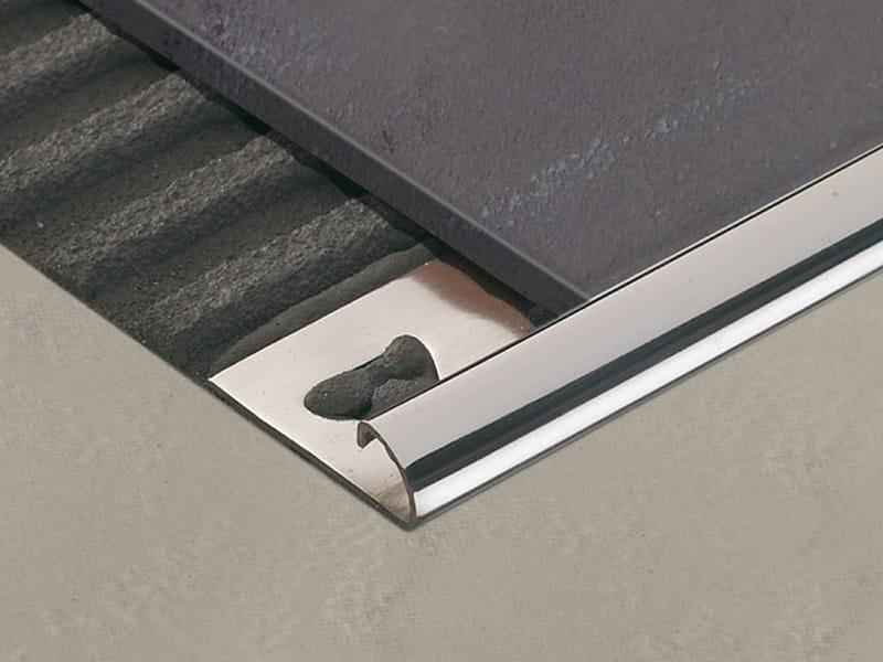 Profile trim for ceramic tiled floors ROUNDJOLLY RJ by PROFILITEC
