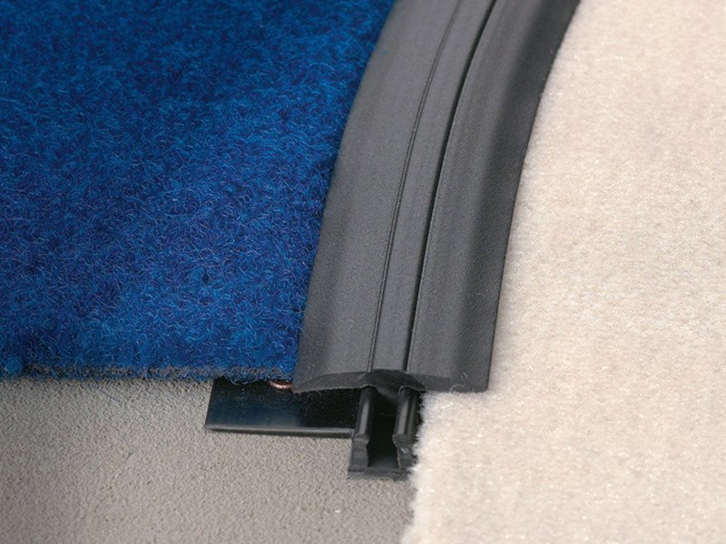 Profile in synthetic resin for carpet floors MULTICURVE CGD by PROFILITEC