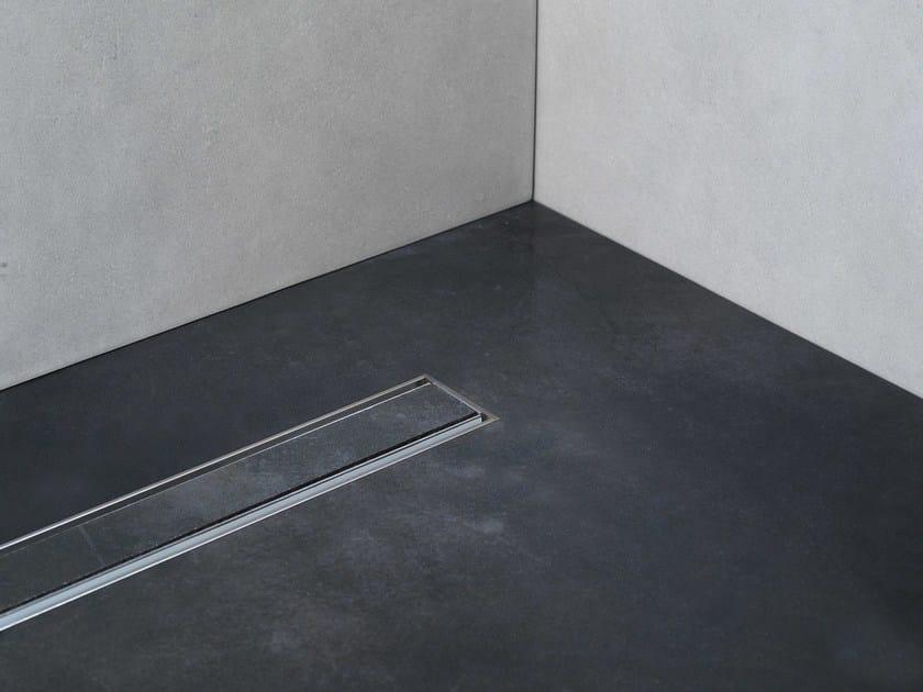 Linear Drain con Griglia Tile